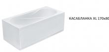 Акриловая ванна Santek Касабланка XL 170×80 без гидромассажа