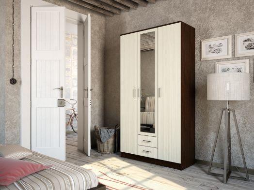 Шкаф 3-створчатый Фиеста