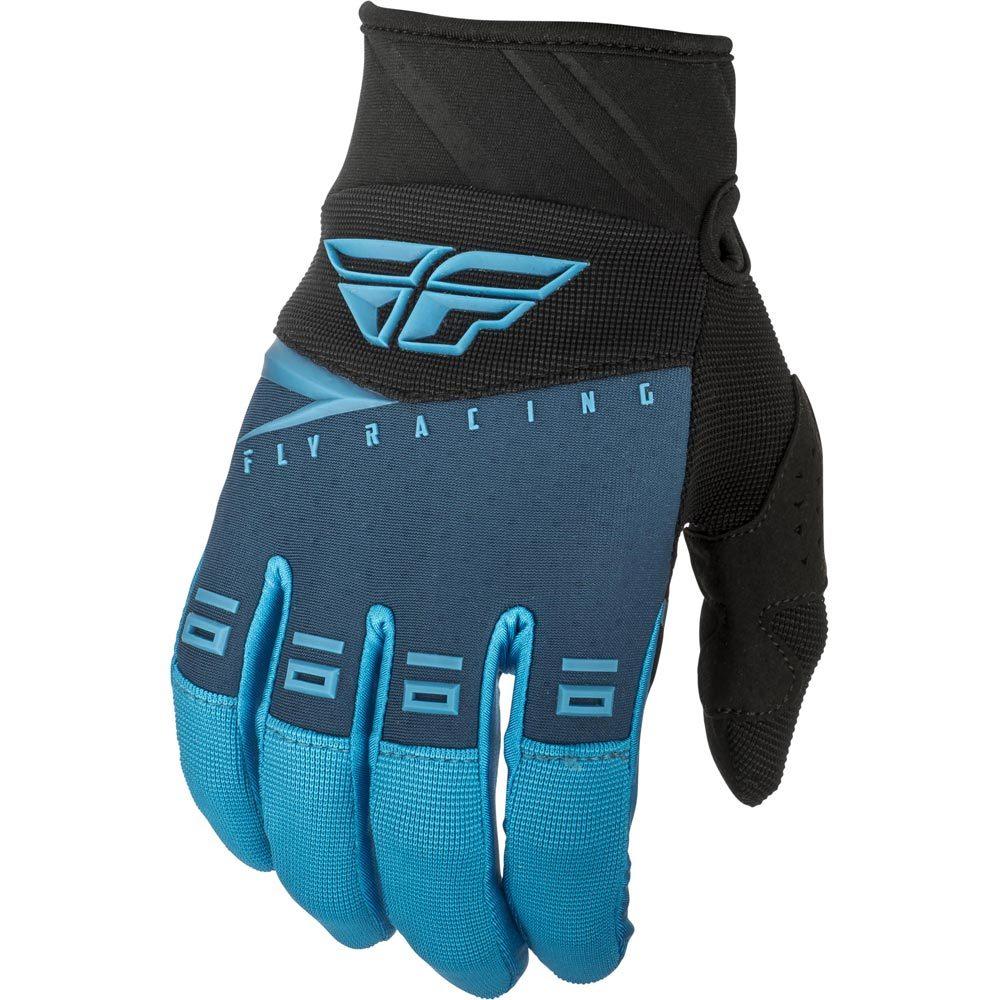Fly Racing - 2019 F-16 Blue/Black/Hi-Vis перчатки, сине-черные