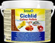 Tetra Cichlid Colour Pellets Корм (шарики) для усиления окраса цихлид (10 л)