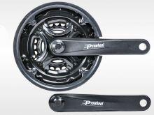 Комплект шатунов для велосипеда PROWHEEL 42-34-24 зуба