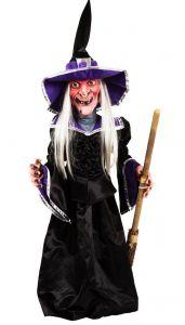 Фигура Ведьма светящаяся (86 см)