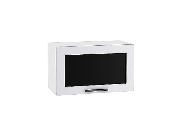 Шкаф верхний Глетчер ВГ600 со стеклом (Гейнсборо Силк)