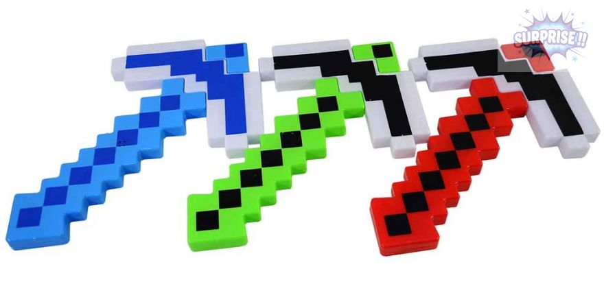 Кирка (Minecraft) 34см (свет+звук)