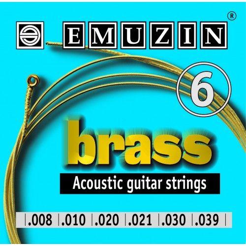 EMUZIN 6А101 (08-39) Струны для акустической гитары