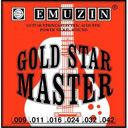 EMUZIN 6ГСМ-02 (09-42) Струны для электрогитары