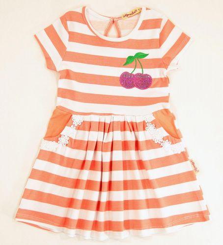 Платье на девочек 2-5 лет Bonito с вишенками