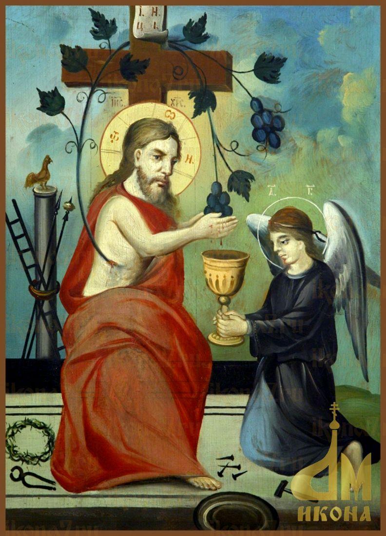 Икона Христос Виноградная Лоза