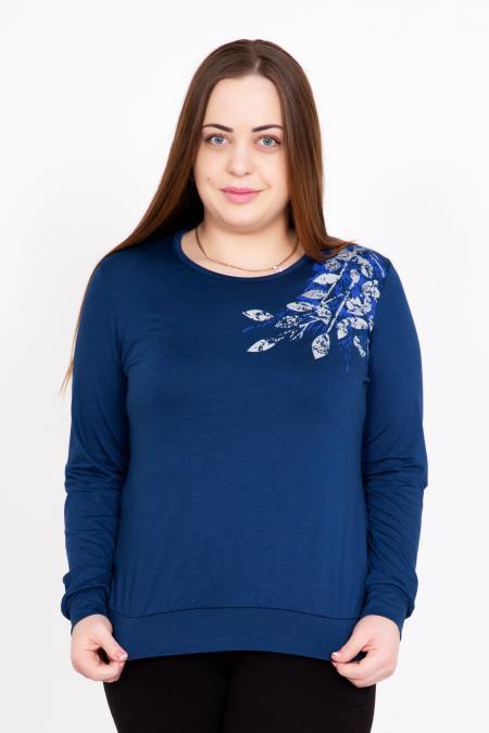 """Блуза """"Лира"""" синяя"""