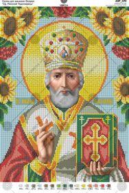 А3Р_072 Virena. Святой Николай Чудотворец. А3 (набор 1350 рублей)