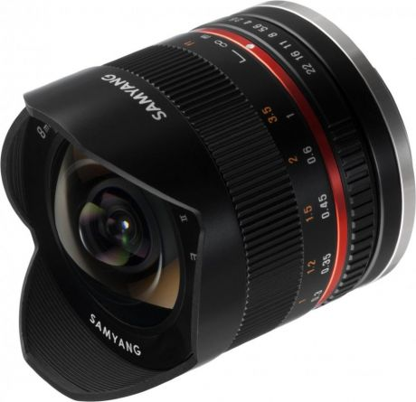 Объектив Samyang 8mm f/2.8 UMC Fish-eye Sony E