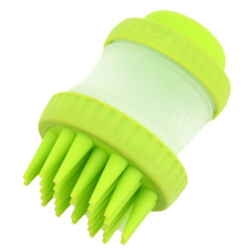 Щетка Для Животных Cleaning Device The Gentle Dog Washer, Цвет Зеленый