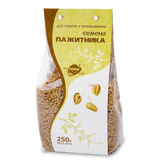 АЛТАЙ Семена пажитника в прозрачном пакете 250 г