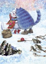 Почтовая открытка Молва с кривотолками