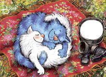 Почтовая открытка Летний сон