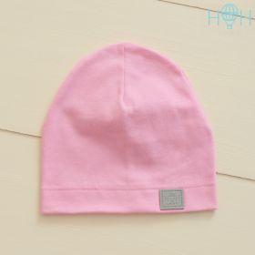 HOH ШЛ19-04310842 Шапка однослойная трикотажная со светоотражающим шевроном, розовый