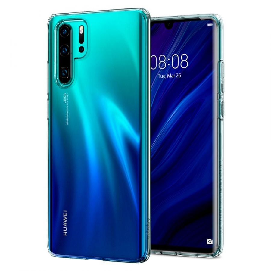 Чехол SGP Spigen Liquid Crystal для Huawei P30 Pro  кристально-прозрачный