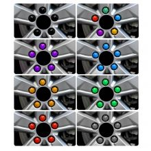 Колпачки на колесные болты (гайки) на 19, выбор цвета