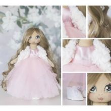 Интерьерная кукла «Шанталь», набор для шитья, 18 × 22.5 × 3 см