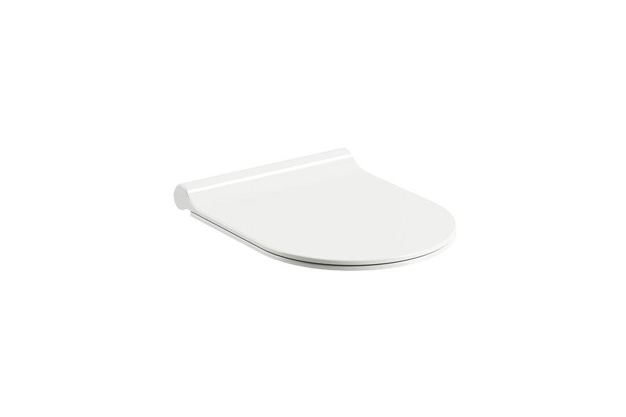 Крышка-сиденье для унитаза микролифт Ravak Chrome Uni SLIM (X01550)