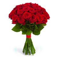 Букет из роз от 11 шт (красные)