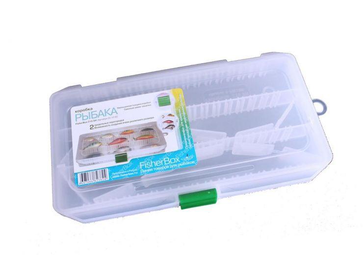 Коробка ФФК-216slim рыбака пластиковая 220х120х30