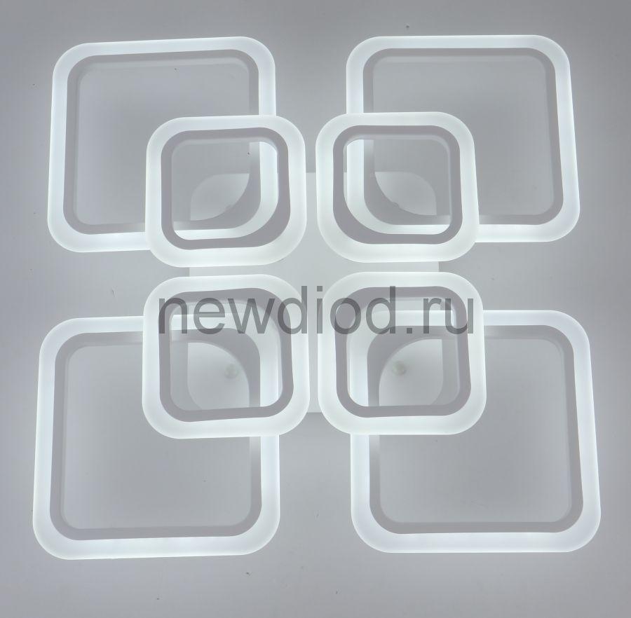Управляемый светодиодный светильник Futuro 8036 8 лепестков 200Вт-12000Лм 700мм 6/3/4000K Oreol