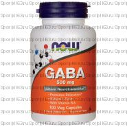NOW GABA 500 mg (100 caps)