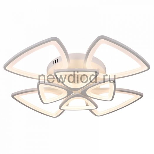 Управляемый светодиодный светильник Futuro 8034 8 лепестов 200Вт-12000Лм 700мм 6/3/4000K Oreol