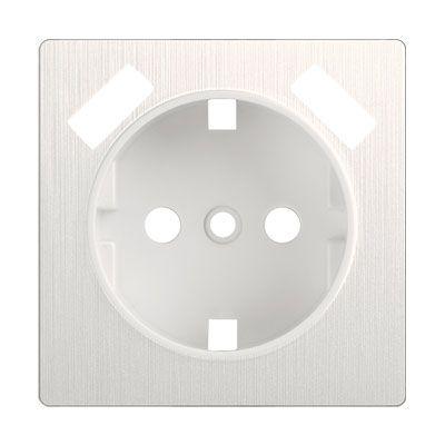 Накладка для USB розетки WL13-USB-CP перламутровый рифленный