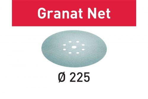 Шлифовальный материал на сетчатой основе STF D225 P120 GR NET/25 Granat Net