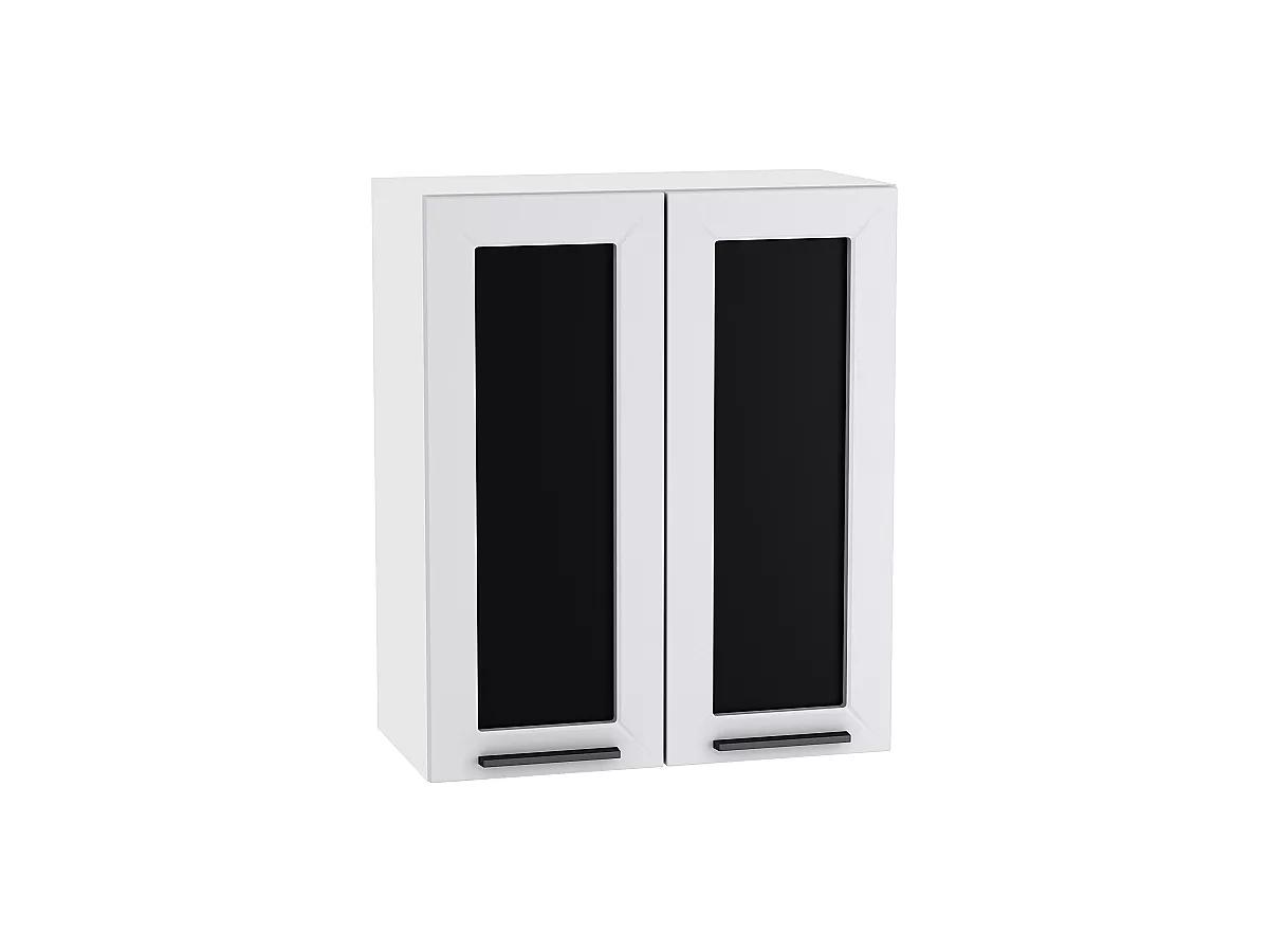 Шкаф верхний Глетчер В600 со стеклом (Гейнсборо Силк)