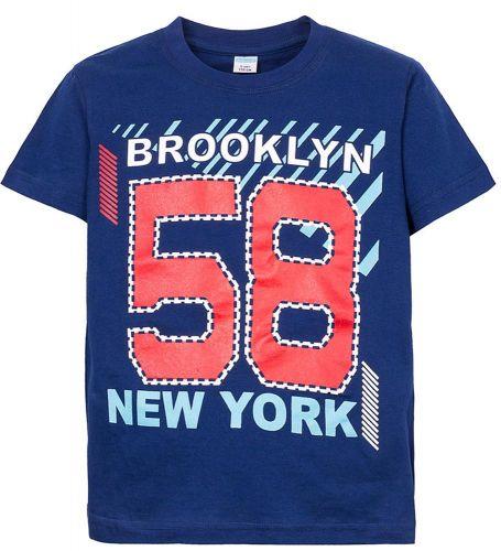 Футболка для мальчиков 6-9 лет Sladikmladik New York 58