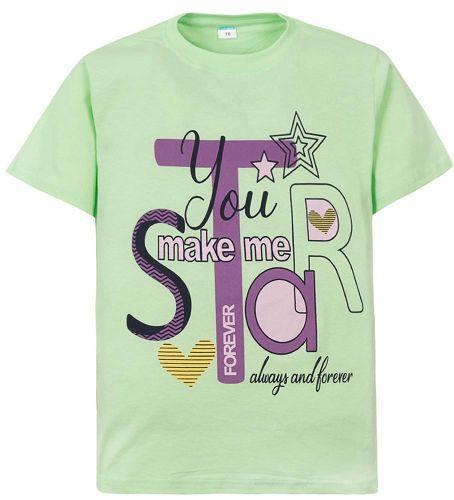 """Футболка для девочек 10-13 лет Sladikmladik """"You make"""""""