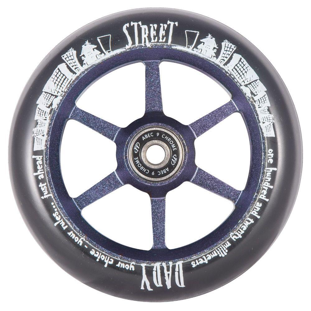 Колесо для самоката X-Treme 120мм 6ST (для самоката Street Dady) 120*30мм