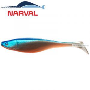 Мягкие приманки Narval Commander Shad 100 мм / упаковка 5 шт / цвет: 001 Blue Back Shiner