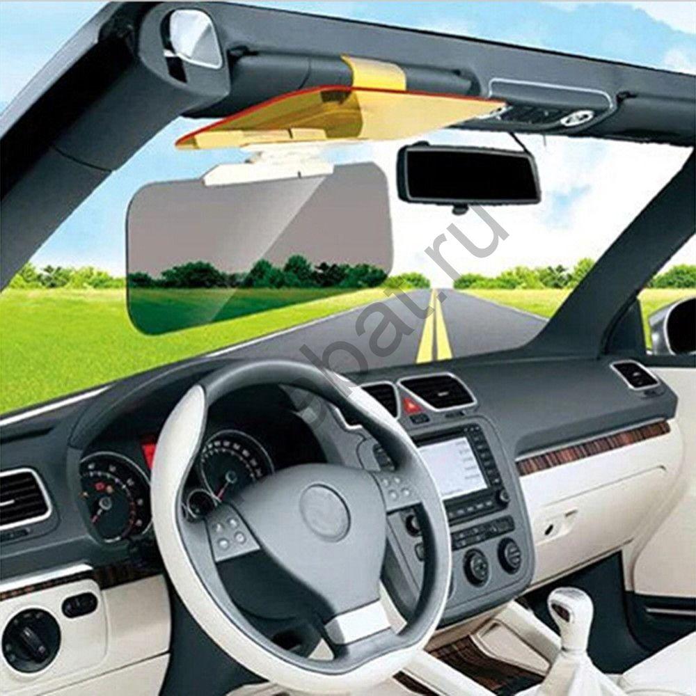 Система защиты (козырек) от солнца и бликов с фильтром для ночного вождения