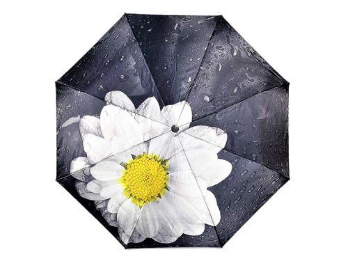 """Зонт женский """" Цветы"""" (полу-автомат) № 1015А"""
