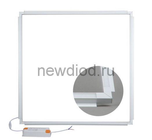 Светильник-рамка светодиодный потолочный REFRAME WHITE 38W 6500K 595x595мм Uniel