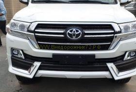 Аэродинамический обвес WI для Toyota Land Cruiser 200 2015 -