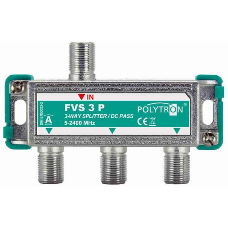 ТВ делитель (сплиттер) спутниковый FVS 3 P