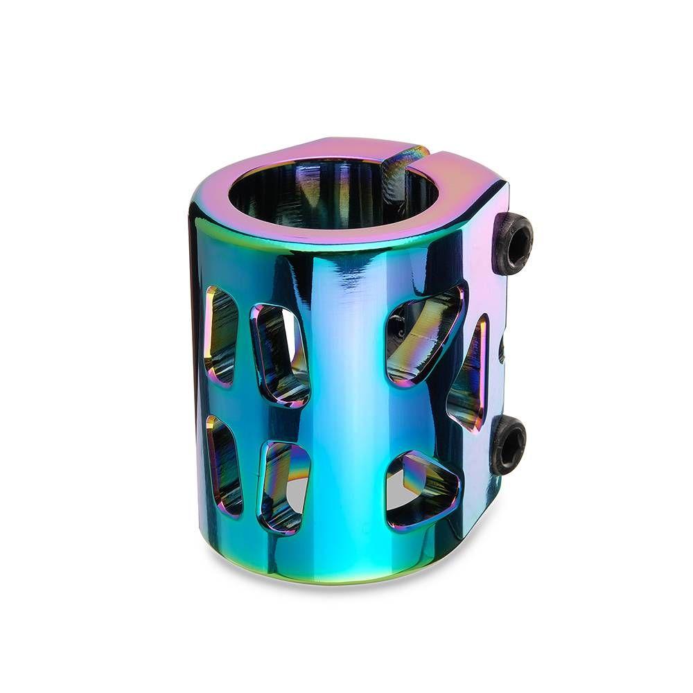 Хомут-B Fox IHC d31.8, 3 bolt standart sized neo-chrome