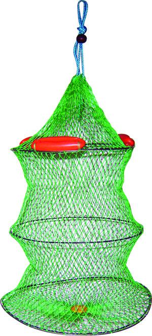 Садок плавающий SWD d-45 см, l-45 см, ячея 30 мм