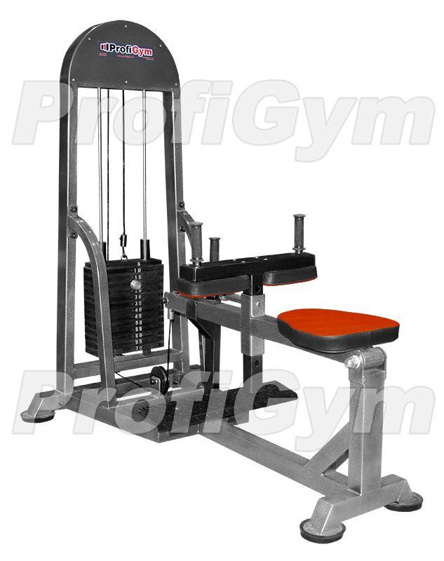 ТГ-0230-С Станок для икроножных мышц сидя (стек70кг, нагрузка 210кг) серия Classic