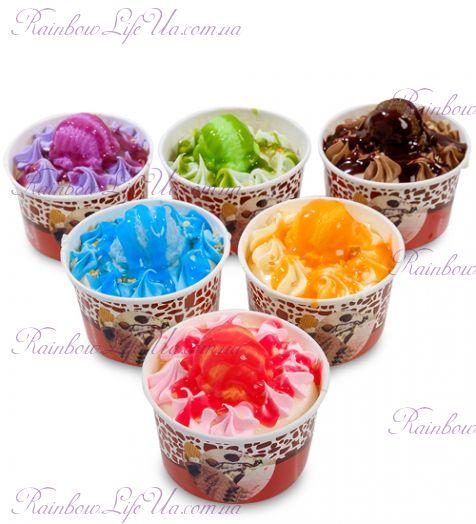 """Магнит """"Мороженое фруктовое наслаждение"""""""