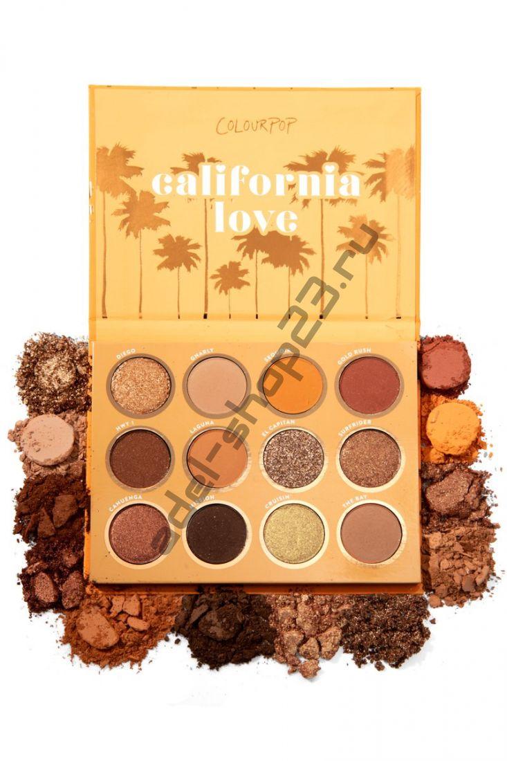 Colourpop - тени для век California Love Quantity