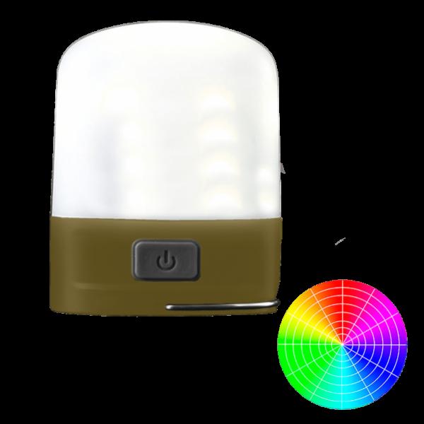 Кемпинговый фонарь, ночник Nitecore LR10 Оливковый