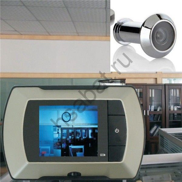 Дверной глазок с монитором беспроводной 2.4 дюйма жк