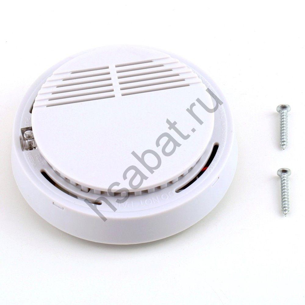 Датчик дыма с сигнализацией на фотоэлементе автономный
