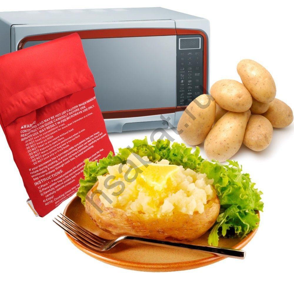 Моющийся мешок Свч 4 картофеля красный  ZK27900